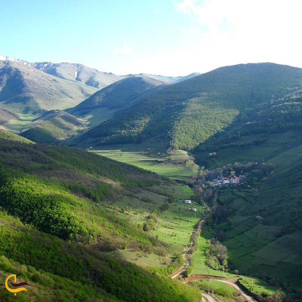 تصویری از منطقه حفاظت شده آینالو