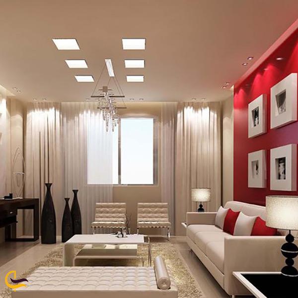 اتاق های هتل آپارتمان کورال مسقط