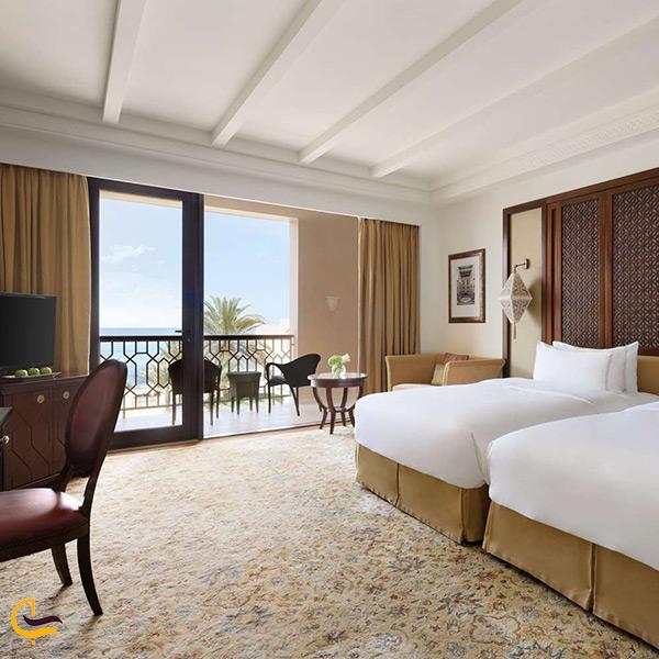 اتاق های هتل اسپا و ریزورت شانگری لا الحسن عمان