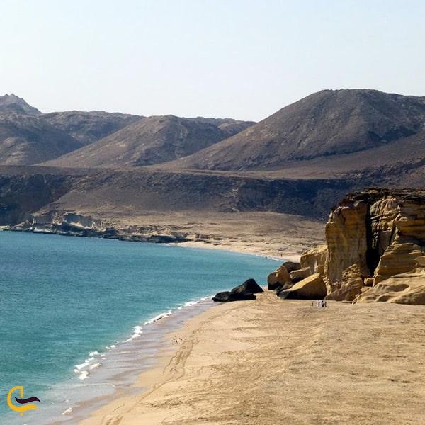 بازدید از منطقه راس الجینز در عمان