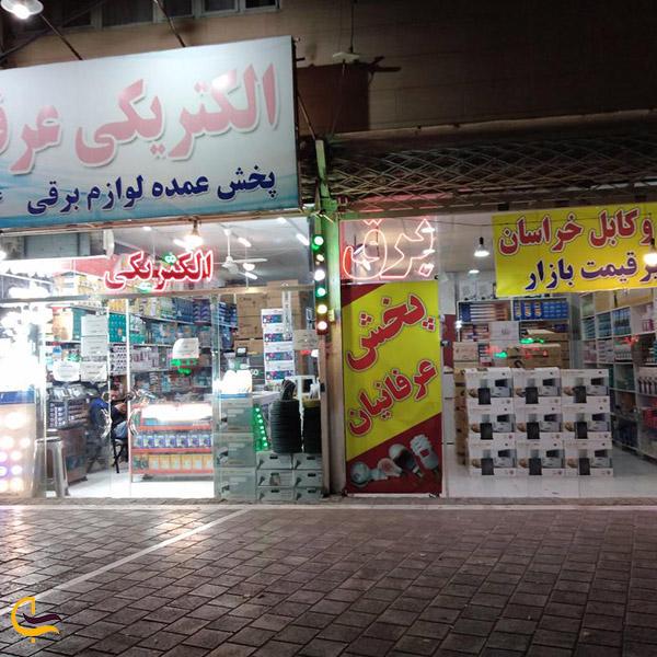 نمایی ازلوازم الکتریکی محله سعد آباد