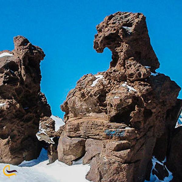 تصویری از سنگ عقاب سبلان