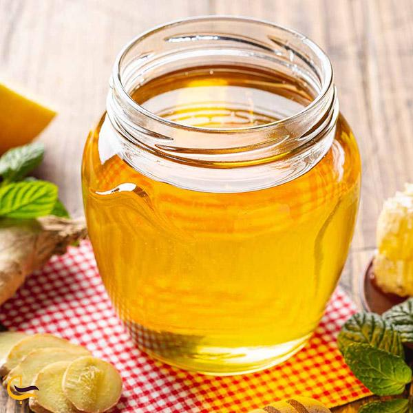 تصویری از عسل سوغات خداآفرین