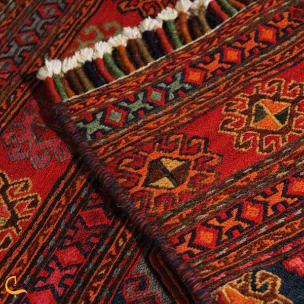 تصویری از گلیم سوغات وصنایع دستی روستای ماسوله