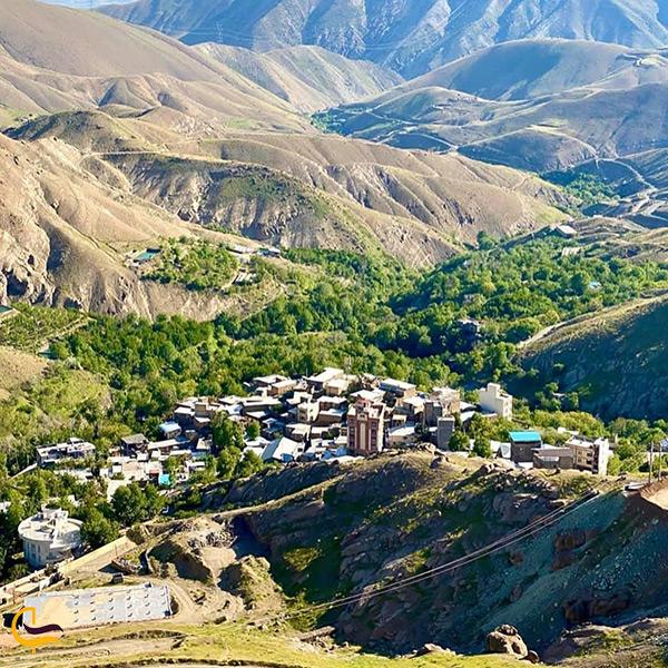جاذبه های دیدنی روستای وردیج تهران