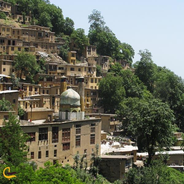 تصویری از طبیعت بکر و سرسبز روستای ماسوله