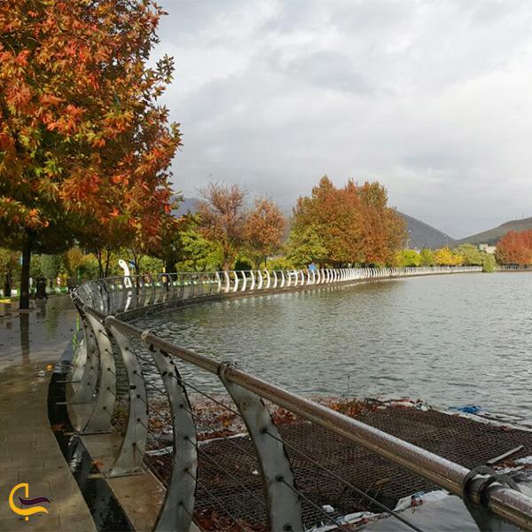 طبیعت زیبای دریاچه کیو خرم آباد