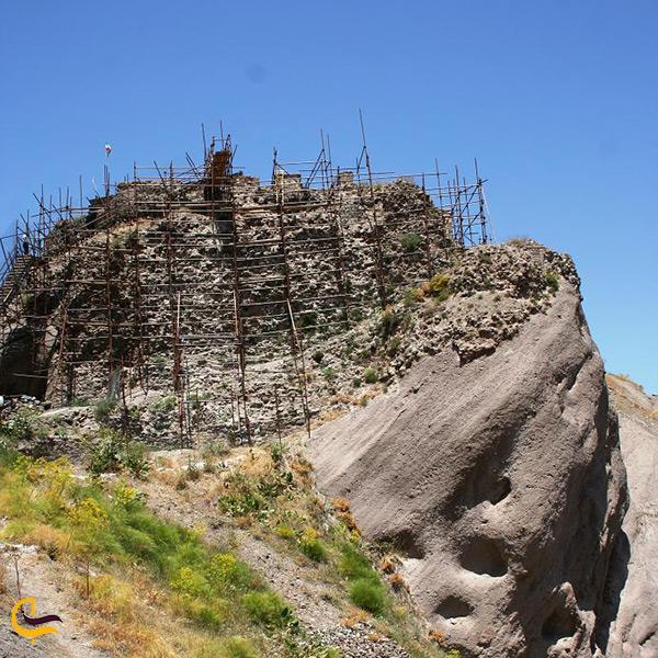 برج های قلعه الموت قزوین