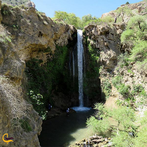 بازدید از آبشار آبگرم کلات نادری