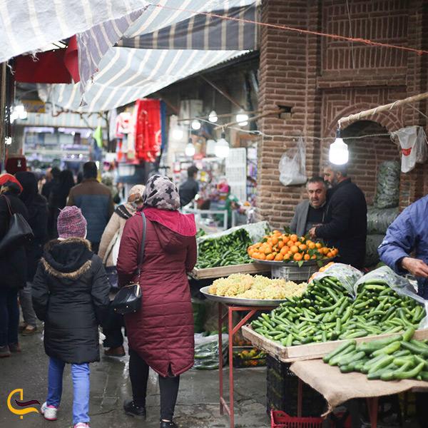 بازدید از بازار محلی سنندج