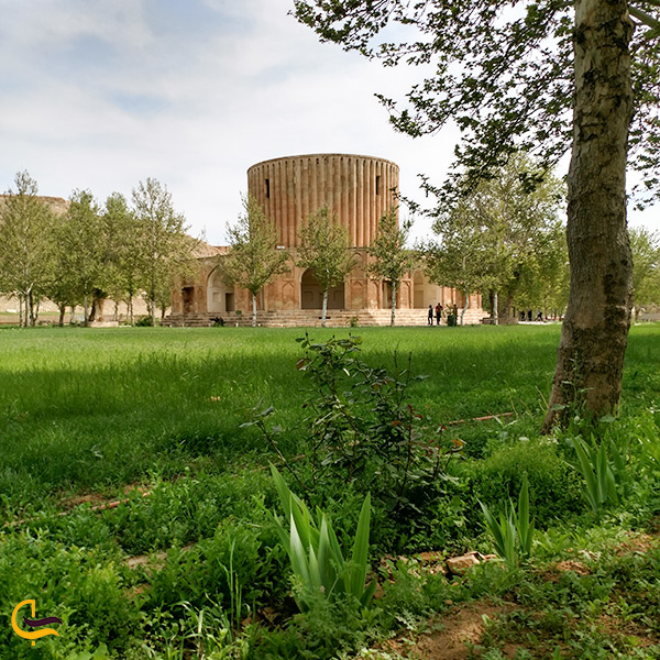بازدید از عمارت خورشید در شهر کلات