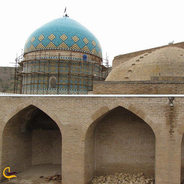 بازدید از مسجد کبود گنبد کلات نادری