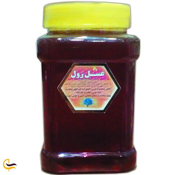 نمایی از عسل زول