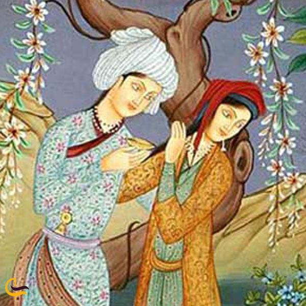تصویری از کتاب قصه عاشقانه عزیز و نگار