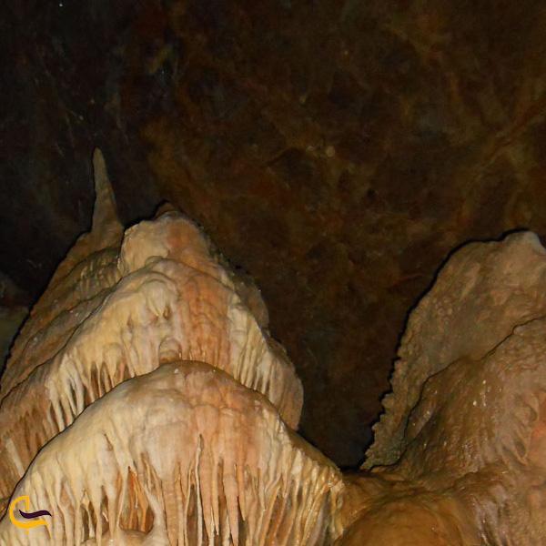 تصویری از داخل غار دوکچی بوکان
