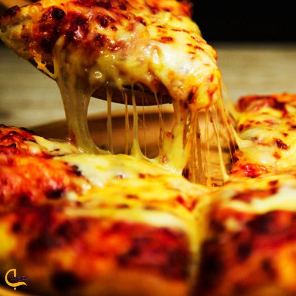 تصویری از پیتزا