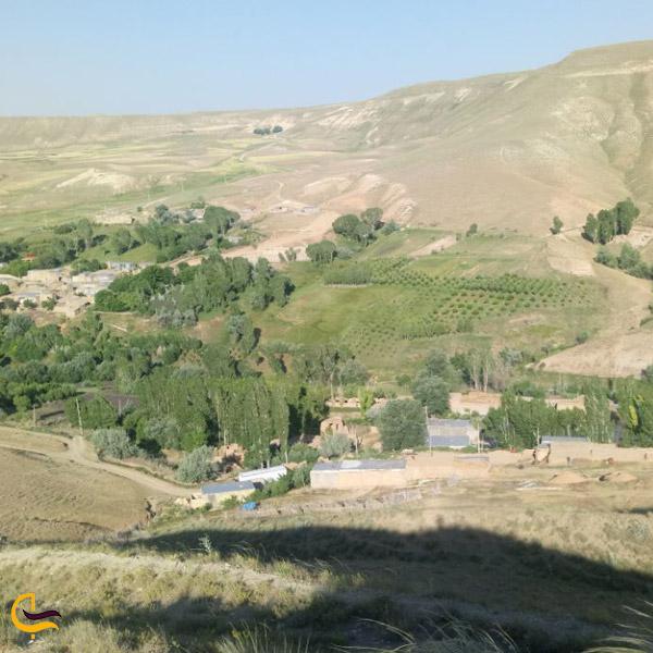 تصویری از طبیعت روستای قینرجه
