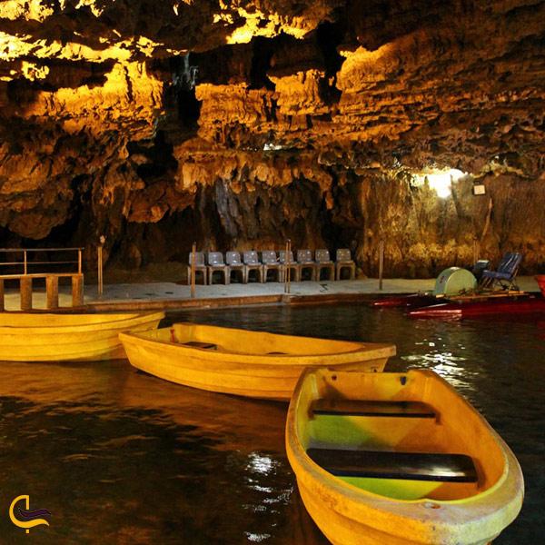 تصویری از غار علی صدر همدان