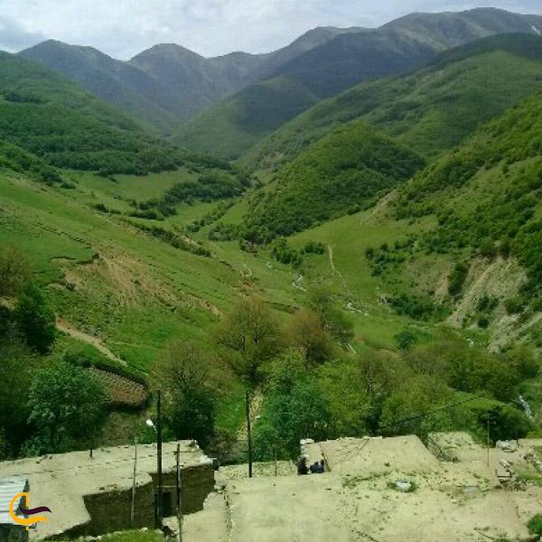 تصویری از طبیعت روستای مردانقم