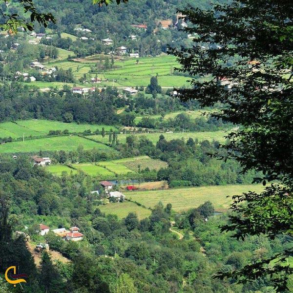 تصویری از طبیعت بکر روستای ماسوله