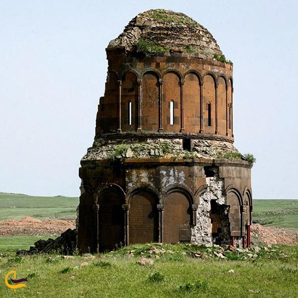 تصویری از بنای تاریخی در شهر قدیمی آنی