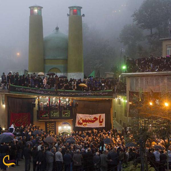 تصویری از جمعیت مردم روستای ماسوله