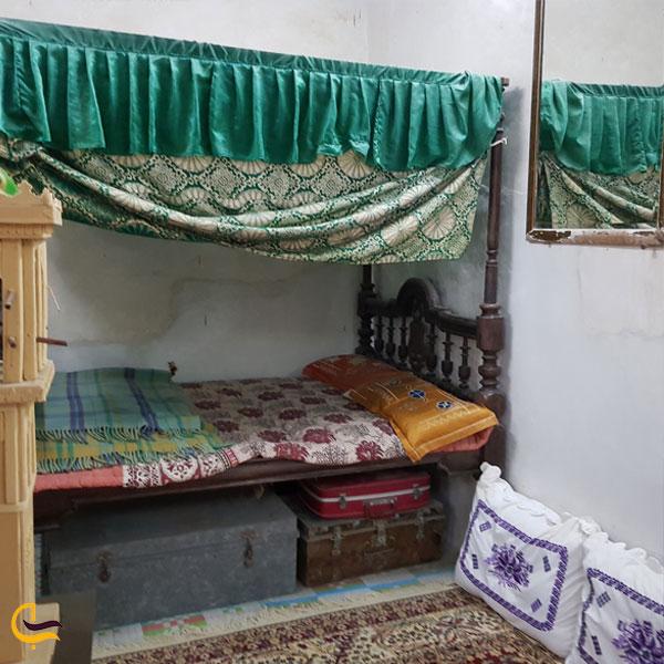 تصویری از اتاق های خانه مردم شناسی کیش