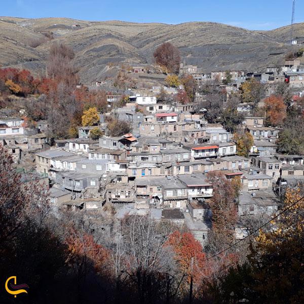 تصویری از روستای مج مج مشهد
