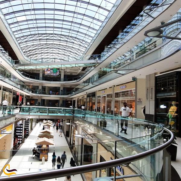 تصویری از مرکز خرید پالادیوم در استانبول