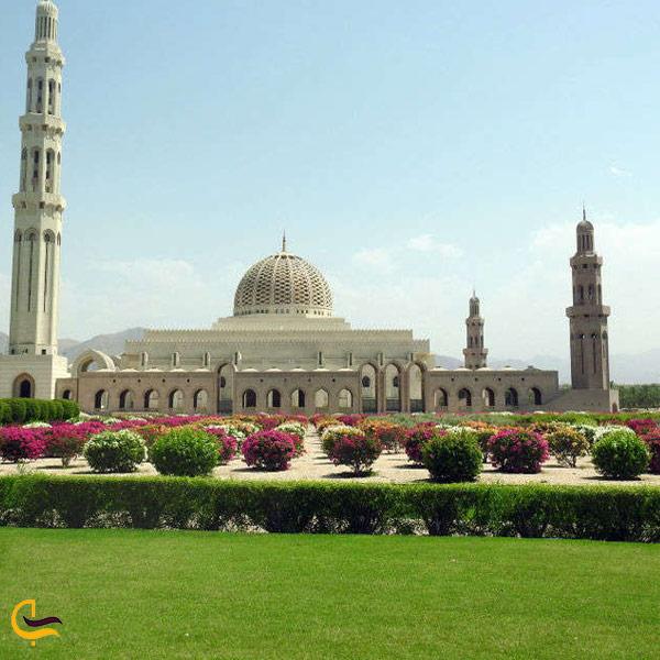تصویری از ابعاد و بزرگی مسجد جامع سلطان قابوس