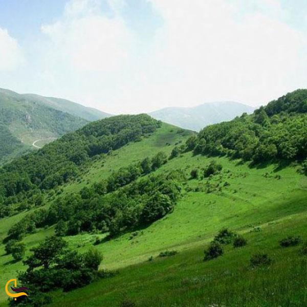 تصویری از ارتفاعات ارسباران