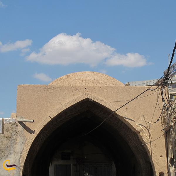 معماری کاروانسرای معین التجار اهواز