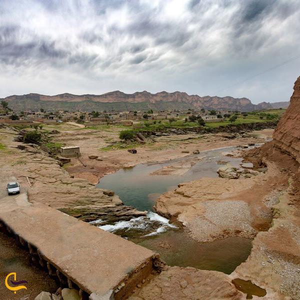 تصویر زیبای منطقه گاومیر خوزستان
