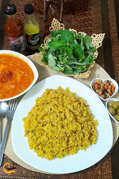للک غذای محلی بوشهری