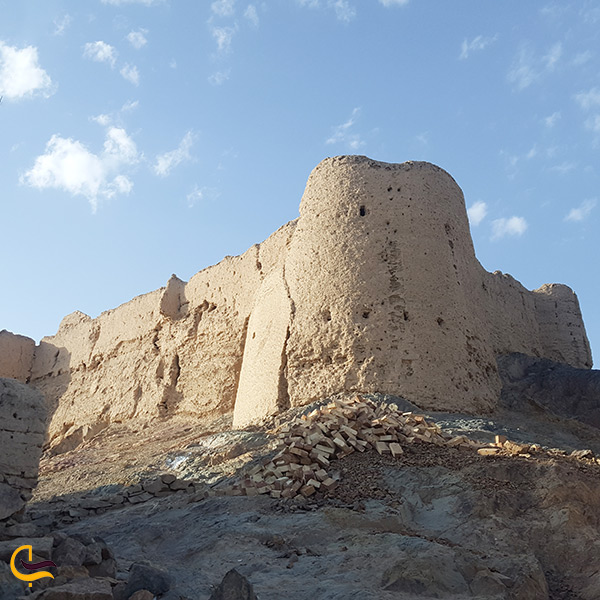 نمای نزدیک قلعه عاشوراگاه