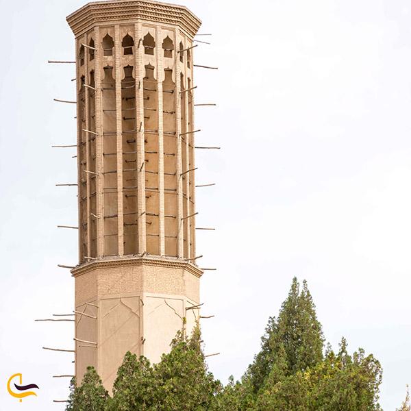نمایی ازبادگیر باغ دولت آباد