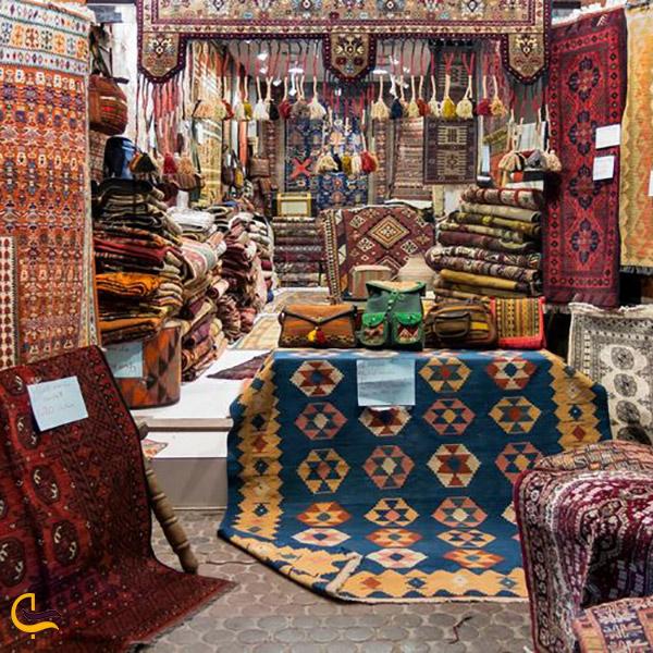 نمایی ازقالی فروشی دبی