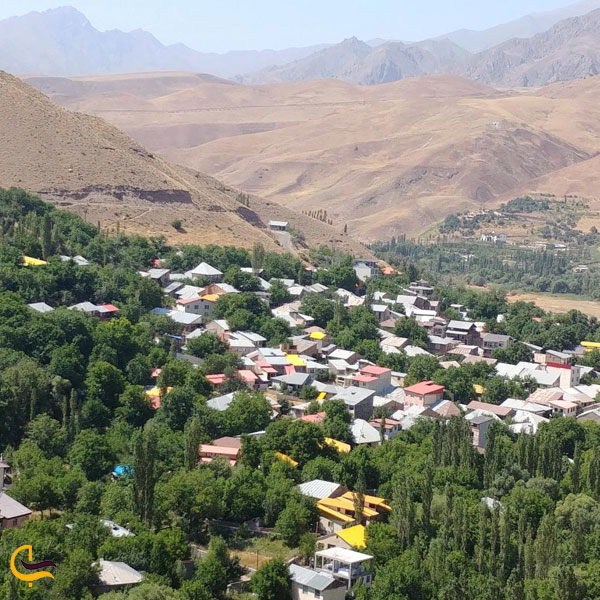 تصویری از روستای گوران طالقان استان البرز