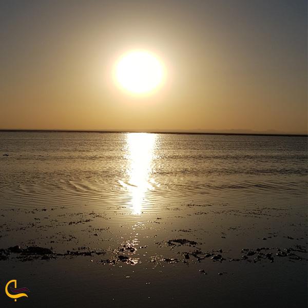 تصویری از دریاچه هامون