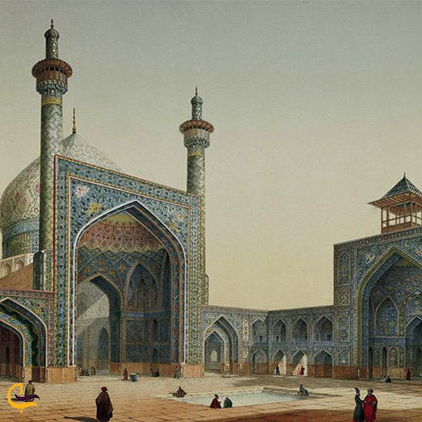 تاریخچه مسجد شاه اصفهان