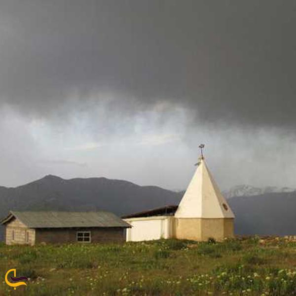 تصویری از امامزاده فاضل فضیل