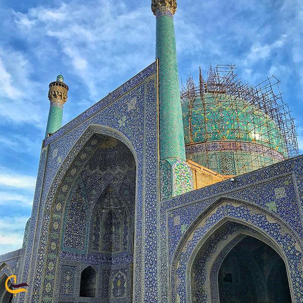 بررسی مسجد شاه اصفهان