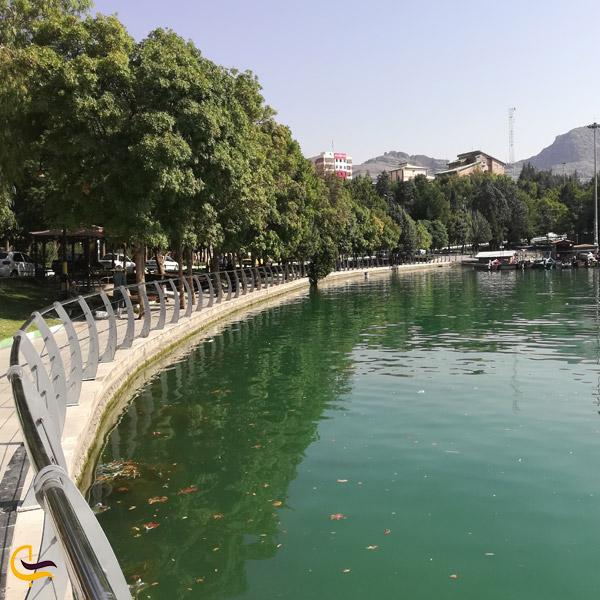 تصویری از دریاچه کیو