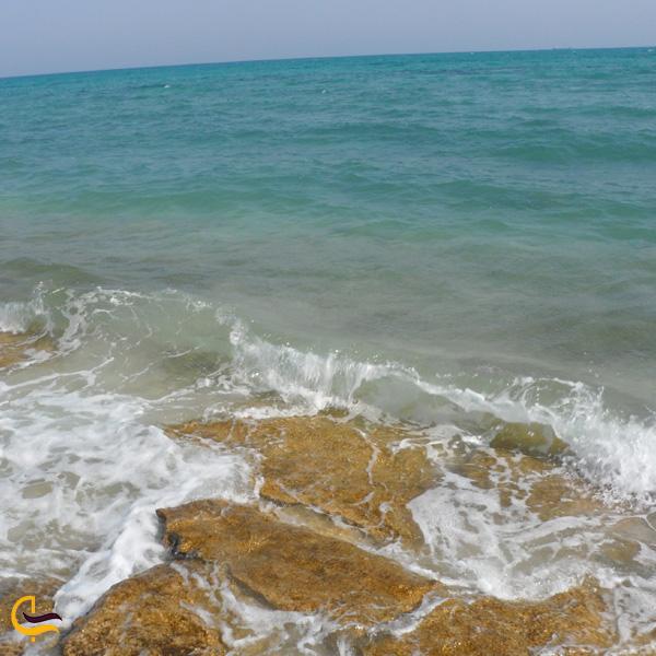 تصویری از ساحل کیش