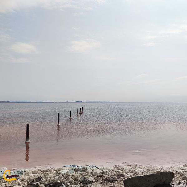 تصویری از دریاچه ارومیه ایران
