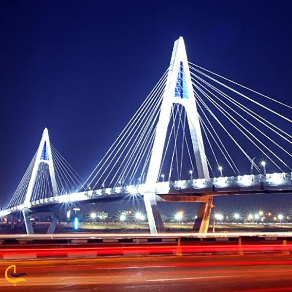 نورپردازی پل نادری اهواز