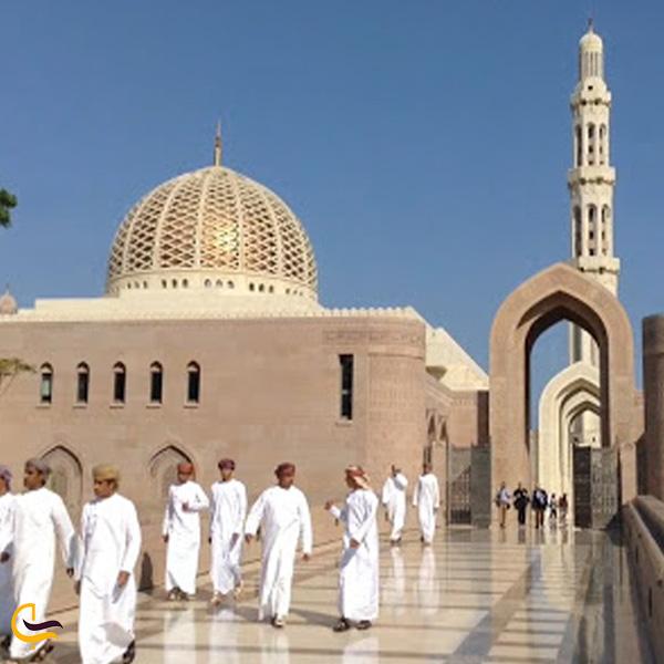 تصویری از مسجد جامع سلطان قابوس