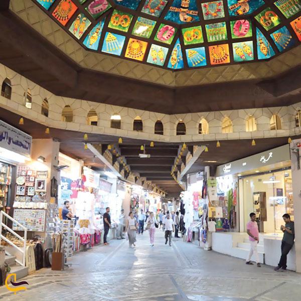 تصویری از سالن بازار سوق مطرح