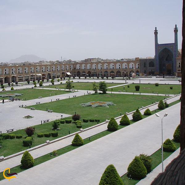 تصویری از میدان نقش جهان اصفهان