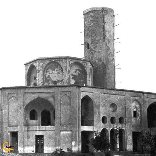 عکس قدیمی باغ دولت آباد